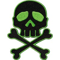 Skull Cross Bones [Green] | PATCH