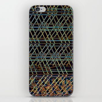 Abstract Design 1 iPhone & iPod Skin by Claude Gariepy