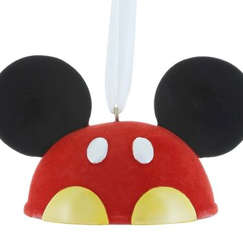 disney parks mickey mouse christmas ear hat ornament parts tail new with tags