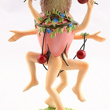 Owl Headed Dancer Fantasy Figurine with Many Legs by Hieronymus Bosch 6.25H