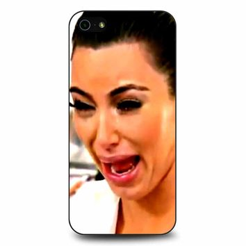 Kim Kardashian Crying iPhone 5/5s/SE Case
