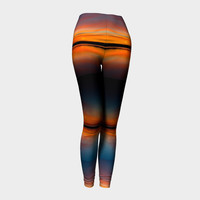 Lake Sunset Leggings