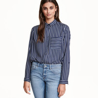 Long-sleeved Shirt - from H&M