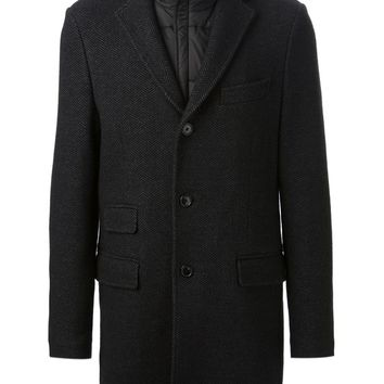 Fay herringbone coat
