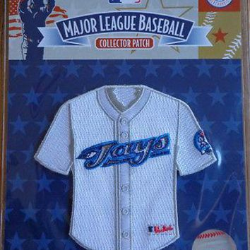 MLB Patch Emblem Toronto Blue Jays Mini Jersey Replica Shape Official Licensed