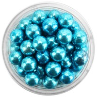 Blue Dragees 6MM