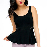 Lorraine Laced Side Tank Top $26