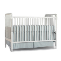 Pointille Organic Crib Skirt