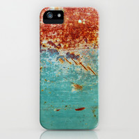 Teal Rust iPhone & iPod Case by RichCaspian | Society6