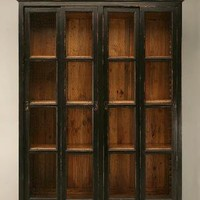 Reproduction Painted Pine Bookcase