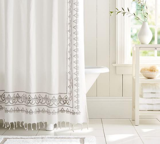 Yara Shower Curtain From Pottery Barn Home