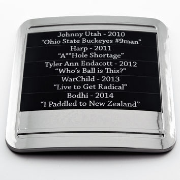 Laser Engraved Plaques (Mid-Plate)