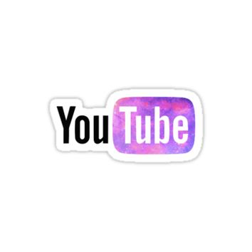 'YouTube Logo' Sticker by elizzyfizzy