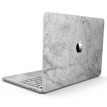 Cracked Marble Surface - MacBook Pro with Touch Bar Skin Kit
