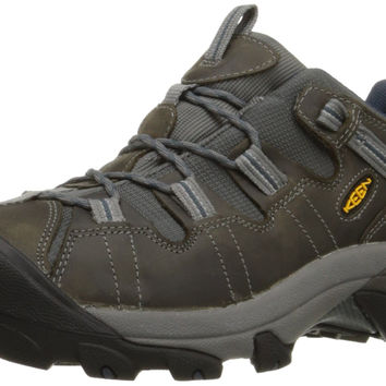 KEEN Men's Targhee II Hiking Shoe Gargoyle/Midnight Navy 13 D(M) US '