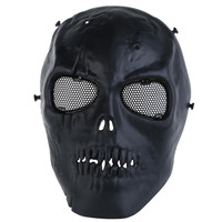 Skull Mask Skull Skeleton Army Airsoft Paintball War Game Full Face Protect Safe Mask for Festival Party