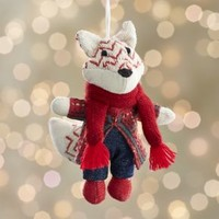 George the Fox Ornament