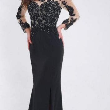 Mother of the bride dresses Mermaid Black Party Gowns