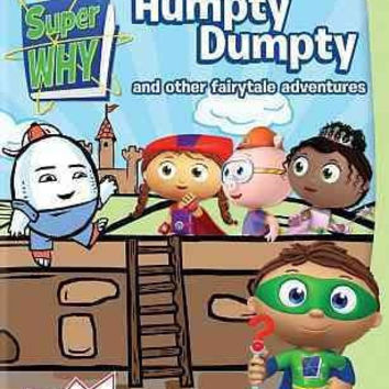 Super Why-Humpty Dumpty & Other Fairytale Adventures (Dvd)