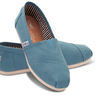 AEGAN BLUE CANVAS WOMEN'S CLASSICS