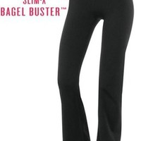NWT SPANX POWER PANTS BLACK Belly Band Bagel Buster #1230 R. $118 NEW