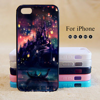 Tangled,Castle,iPhone 5 case,iPhone 5C Case,iPhone 5S Case, Phone case,iPhone 4 Case, iPhone 4S Case,Case-IP002Cal