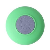 HDE Mini Rechargeable Wireless Bluetooth Hands Free Mic Waterproof Outdoor Speaker (Green)