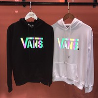 HCXX 19Aug 317 Vans Reflective Thin Section Cotton Terry Sweater