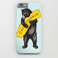 Vintage California Bear iPhone & iPod Case by heartlocked