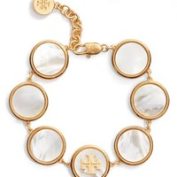 Tory Burch Mother-of-Pearl Station Bracelet | Nordstrom