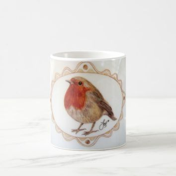 Just A Little Robin Redbreast Coffee Mug