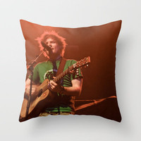Ed Sheeran - Live in Philly Throw Pillow by Chris Klemens | Society6