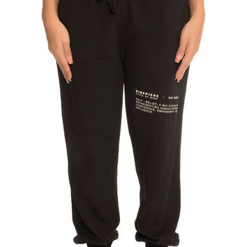 The Low Key Joggers in Black