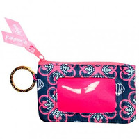 "Simply Southern Key Chain & ID Holder ""Sea Clover"""