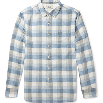 Grayers - Taylor Double-Cloth Checked Cotton Shirt | MR PORTER