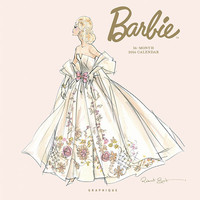 """Barbie"" Glamour Calendar Presenting Stylish Fashions-in Four Languages"