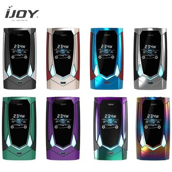 Original Electronic Cigarettes Mod IJOY AVENGER PD270 Vaporizer Avenger TC Box MOD Powerful 234W Output For Avenger Subohm Tank