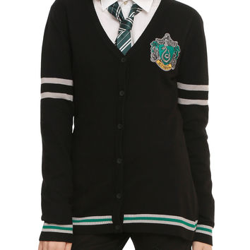 Harry Potter Slytherin Girls Cardigan