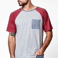 On The Byas Nestor Raglan T-Shirt - Mens Tee