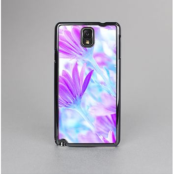 The Vibrant Blue & Purple Flower Field Skin-Sert Case for the Samsung Galaxy Note 3