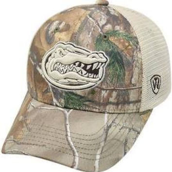 NCAA Florida  Gators Top Of The World REALTREE Trucker Hat