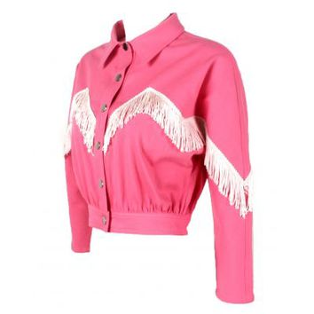 HOME :: Style :: APPAREL :: PRE-ORDER Cowgirl Barbie Fringe Jacket
