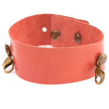 Melon Thin Leather Cuff Lenny and Eva