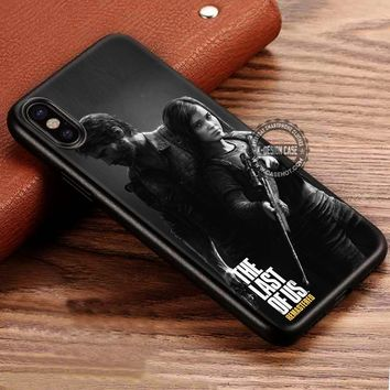 Remastered Ellie and Joel The Last Of Us iPhone X 8 7 Plus 6s Cases Samsung Galaxy S8 Plus S7 edge NOTE 8 Covers #iphoneX #SamsungS8