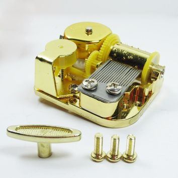 Game of thrones theme golden wind up music box mechanism