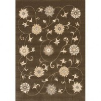 Chandra Rugs Machine-made Contemporary Rita RIT-2507 Rug - RIT-2507 - White and Tan Rugs - Area Rugs by Color - Area Rugs