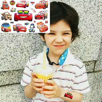 Rusteze Car Mack Child Love Temporary Body Art Toys Flash Tattoo Sticker 17*10cm Birthday Xmas Baby Shower Party Gift