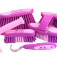 BENTLEY EQUESTRIAN SLIP NOT HORSE GROOMING BRUSHES ONLY - PURPLE