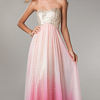 Sequin Prom Dress by Jump