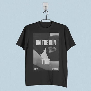 Men T-Shirt - Beyonce and Jay Z on The Run Tour